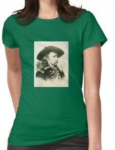 George Armstrong Custer Womens Fitted T-Shirt