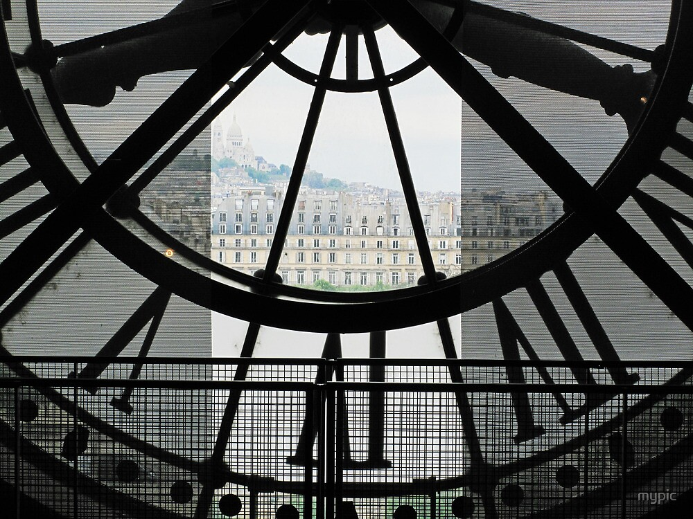 Quot Back Of Time Paris From Inside Clock Tower Quot By Mypic