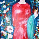 """  lady with perfume "" by catherine walker"
