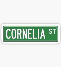 Cornelia Street Sticker