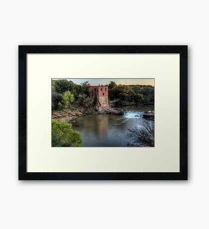 The Eliasville Mill Framed Print
