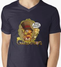 Gentlemon: Rai say! Men's V-Neck T-Shirt