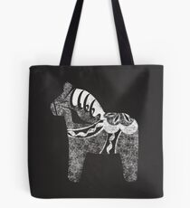 Chalky The Dala Horse Tote Bag