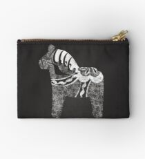 Chalky The Dala Horse Zipper Pouch