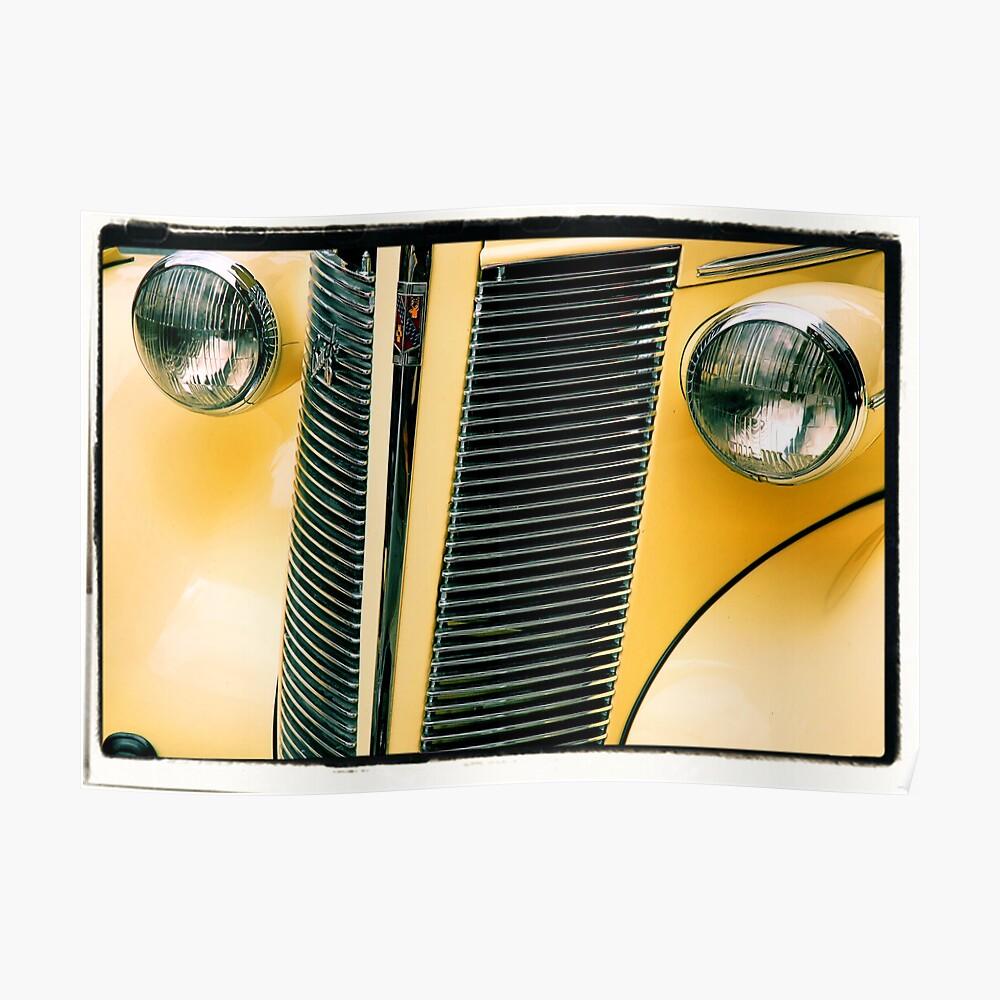 Classic Car Art Poster