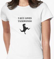 T-Rex Loves Taekwondo T-Shirt