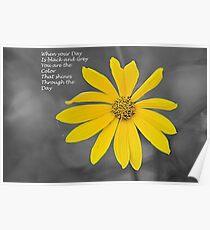 Wild Flower 3 Poster