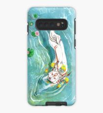 Swimming Ammy  Case/Skin for Samsung Galaxy