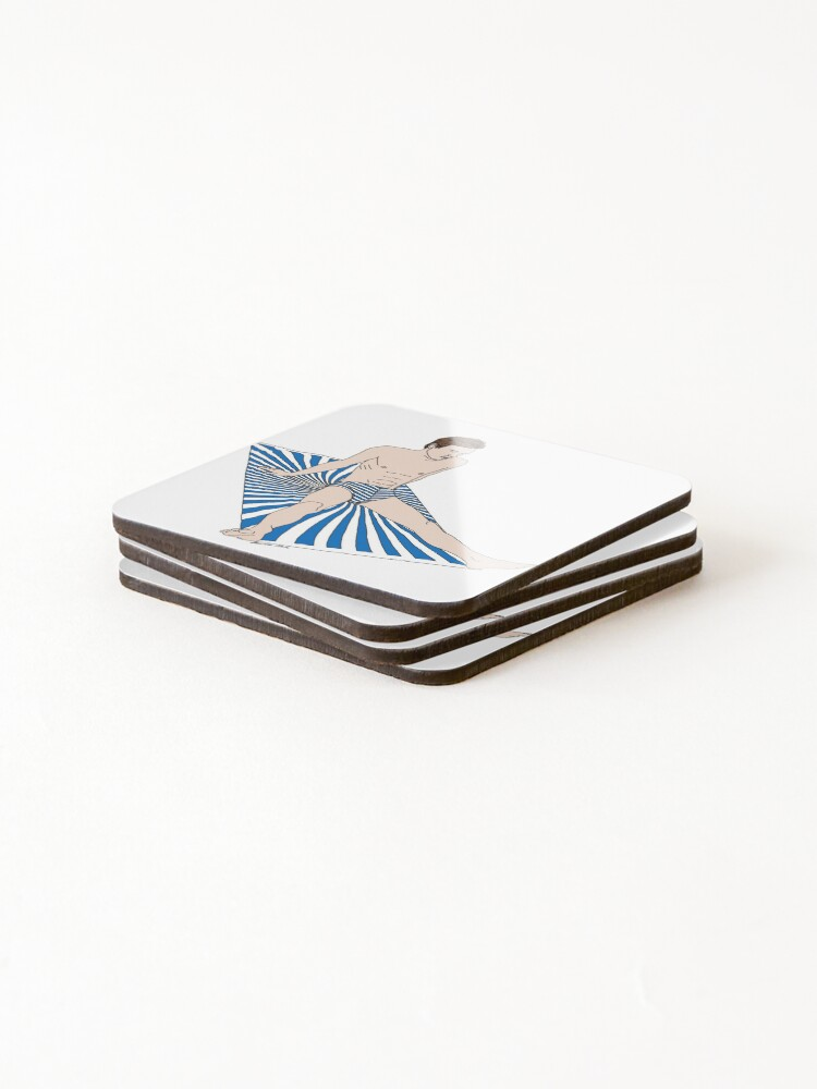 Alternate view of Sunbather Coasters (Set of 4)