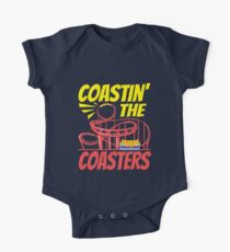 Roller Coaster Coastin' The Coasters Destinations Hobbies Summer Seasons Short Sleeve Baby One-Piece