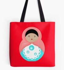 Sweet Bubble Babushka Tote Bag