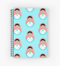 Sweet Bubble Babushka Spiral Notebook