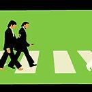 Beatles Walking Crosswalk by StickaBomb