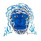 Gorilla © feathers & eggshells - wild new things are born by wildnewthings