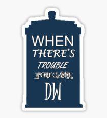 Call DW Sticker