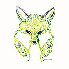 Fox © feathers & eggshells - wild new things are born by wildnewthings