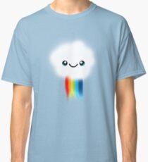 Happy Kawaii Rainbow Cloud Classic T-Shirt