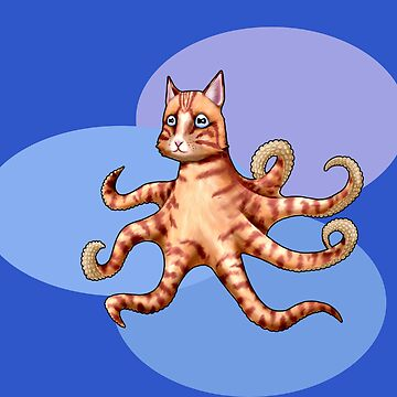 Octopus-sy Cat by StormCrow42