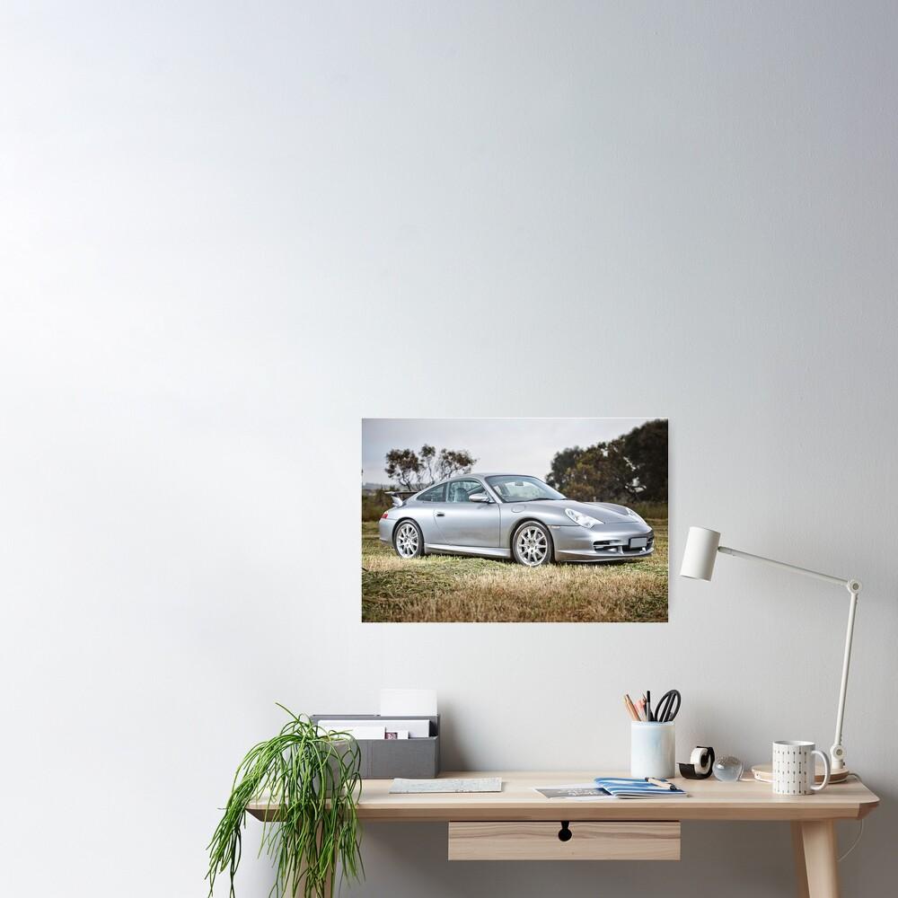 Porsche 996. Poster