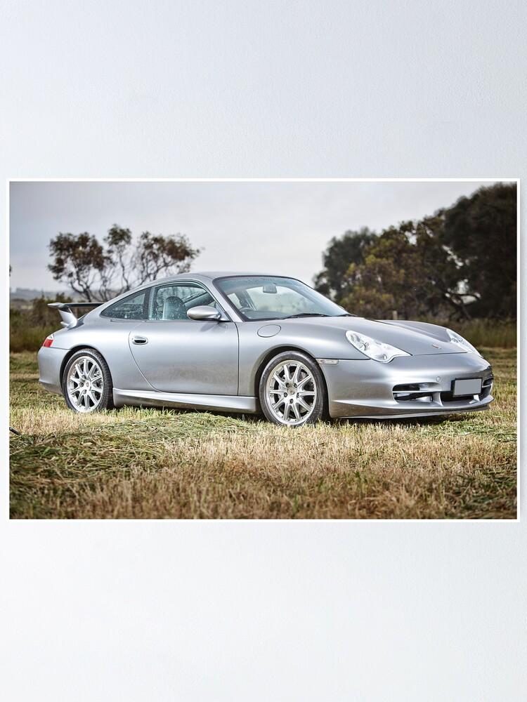 Alternate view of Porsche 996. Poster