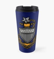Coast Guard Senior Chief Anchor Travel Mug