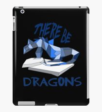 THERE BE DRAGONS iPad Case/Skin