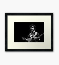 Jape At The Pav Framed Print