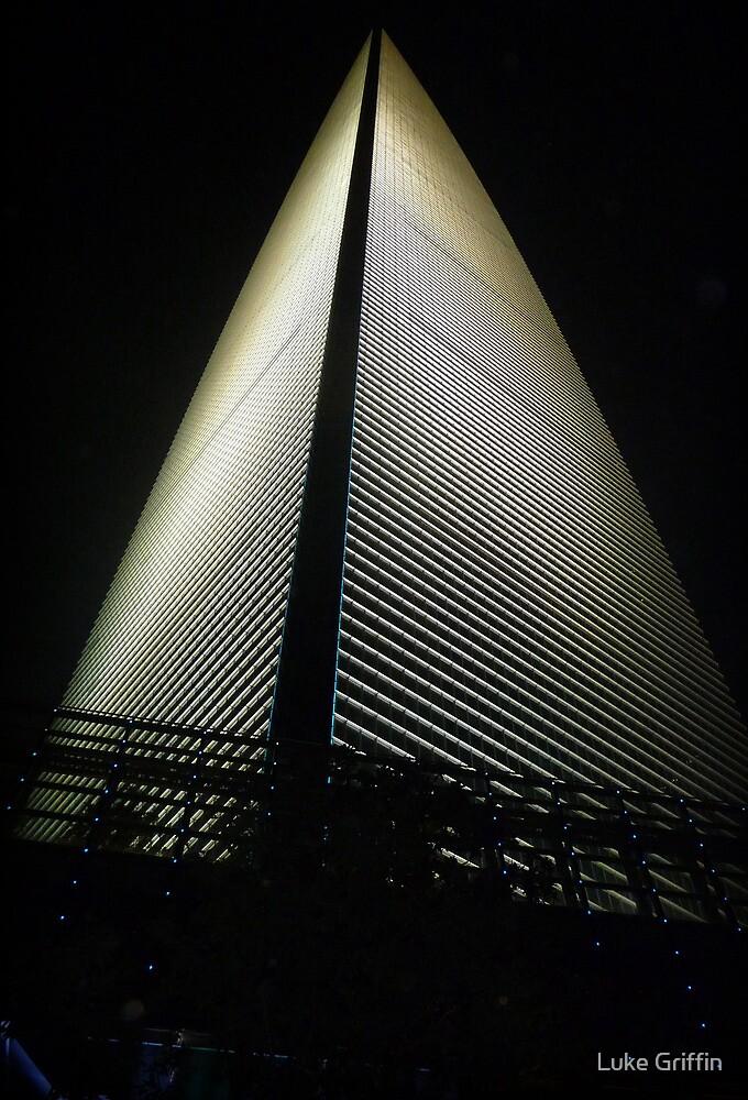 Shanghai World Financial Center by Luke Griffin