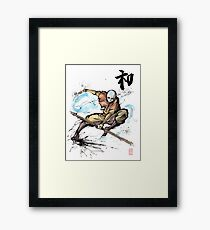 Aang from Avatar TV series Framed Print