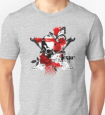 Skull Trash Polka T Shirt Unisex T-Shirt