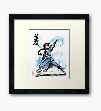 Katara from Avatar TV series Framed Print