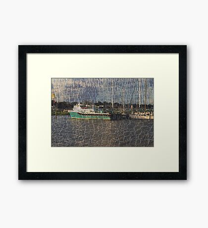 Dreaming of the Catch Framed Print