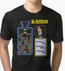 Dr.Mario NES Tri-blend T-Shirt