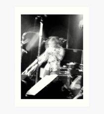 Rockin' Trombone Art Print