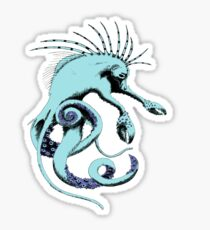 Sea Creature Tee Sticker