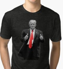 Donald Trump For President 2016 Thumbs Up Tri-blend T-Shirt