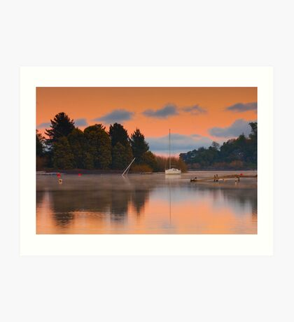 Pucon Sunrise Art Print