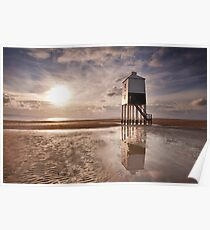 Burnham Lighthouse, Somerset Poster
