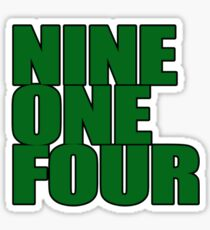 Westchester - Nine One Four Sticker