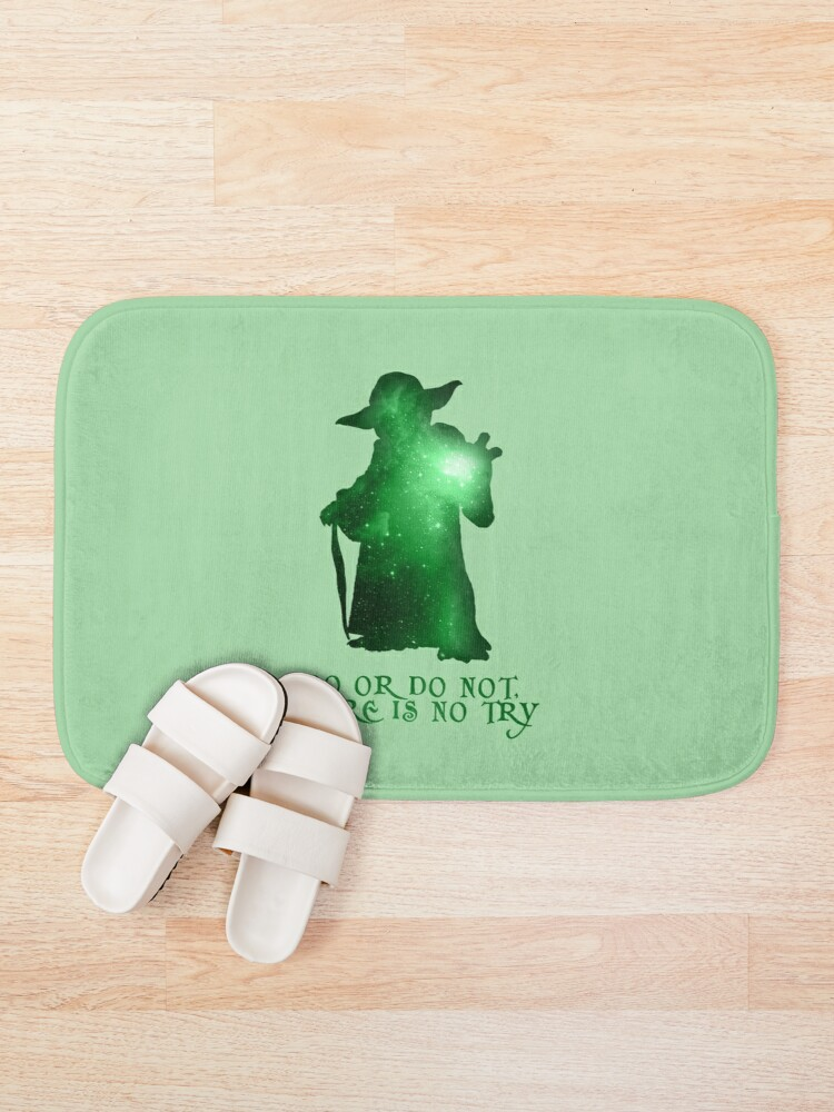 Alternate view of Do or Do not, There is no Try Bath Mat