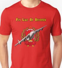 Fly Like An Antonov Unisex T-Shirt