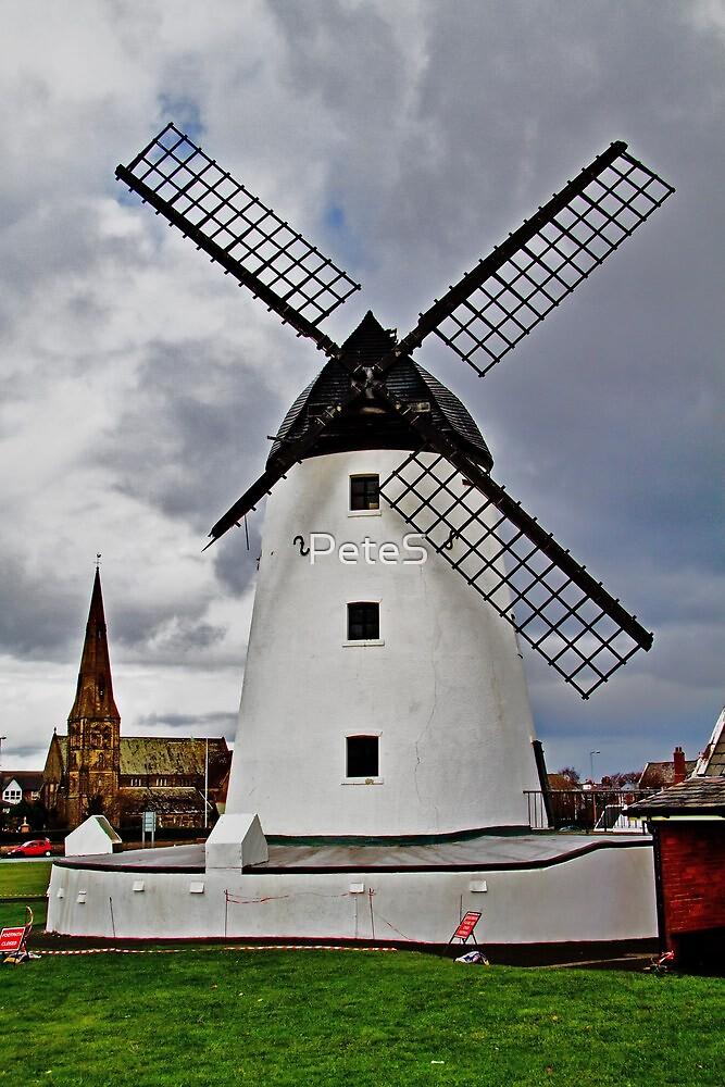 Lytham Windmill by Peter Stone