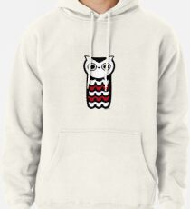 Wise Owl Pullover Hoodie