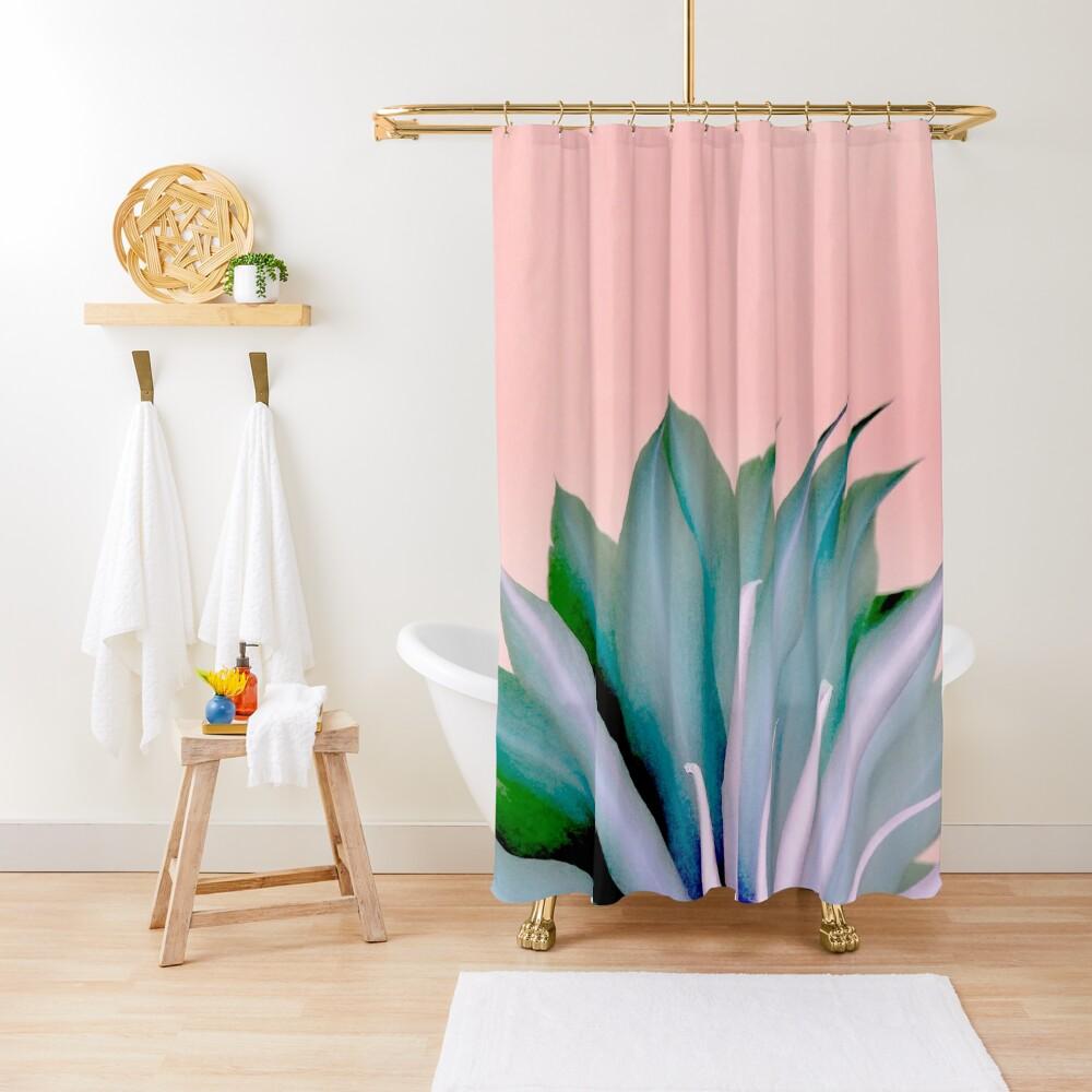 Mystery Beauty Shower Curtain