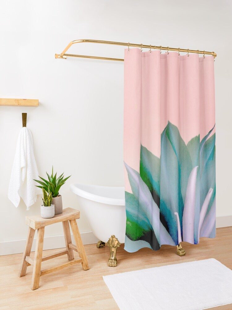 Alternate view of Mystery Beauty Shower Curtain