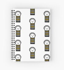 Spiky Hedgehog   Spiral Notebook