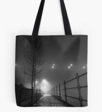 Lonely pathway Tote Bag