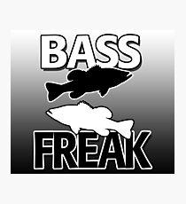 Bass Freak - Art/Calendar Photographic Print