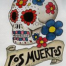 Los Muertos Skull by Lee Twigger