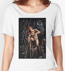 Cyberpunk Painting 063 Women's Relaxed Fit T-Shirt